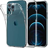 Spigen 全透明 iPhone12 ケース iPhone12Pro ケース 6.1インチ MagSafe 対応 ケース クリアケ……