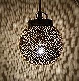 Suspension orientale Marocaine 'petit marocain' - 20 cm - Lampe suspendue -...