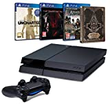 Contenu : Console PS4 500Go + Uncharted : The Nathan Drake Collection + PS Plus 3 mois Assassin's Creed : Syndicate + Steelbook exclusif Amazon Metal Gear Solid V : The Phantom Pain