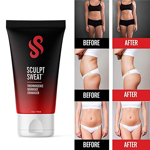 Perfect Sculpt Double Up Sweat Bundle - Sweat Belt & Sweat Cream - Targets Problem Areas for Increased Sweat & Circulation 8