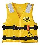 プロックス 小型船舶用救命胴衣(型式認定)子供用 Mサイズ TK13B2M イエロー M