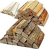 広葉樹の薪と針葉樹の薪2点セット