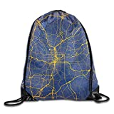fenrris65 Tirador-mochila mochila deportiva gimnasio saco de cordón mochila bolsa de haz boca paquete A2062