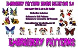 342,000 Embroidery Machine Patterns Designs Collection
