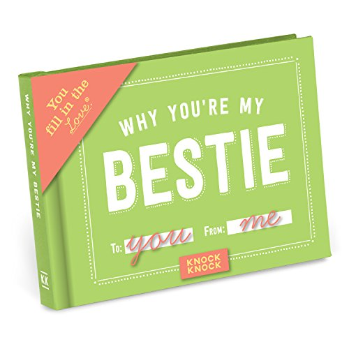 Knock Knock Why You're My Bestie Fill in the Love Book...