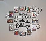 CL333 Disney Photo Vinyl Decal Clock (4' x 6')