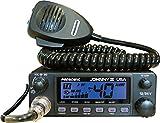 President Johnny III USA 40 Channel CB Radio 12 or 24V, Black