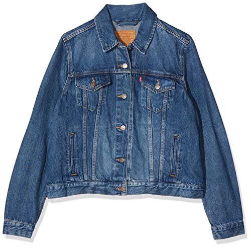 Levi's Damen Original Trucker' Jeansjacke, Blau (Soft As Butter Dark...