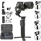 FeiyuTech G6 Max 3-Axis Handheld Gimbal Stabilizer (G6 Plus Upgrade Ver) for Mirrorless Camera Like...