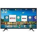 Hisense H32BE5500 Smart TV LED HD 32', USB Media Player, Tuner DVB-T2/S2 HEVC Main10 [Esclusiva Amazon - 2019]