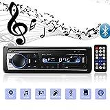 Andven Autoradio Bluetooth, 4x60W FM Radio Voiture 1 Din, Récepteur Bluetooth...