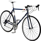 Pure Cycles Classic 16-Speed Road Bike, 60cm/XX-Large, Bonette Blue