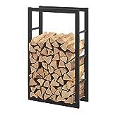 [en.casa] Porte-Bûches Robuste Range-Bûches Solide Support pour Bois de...