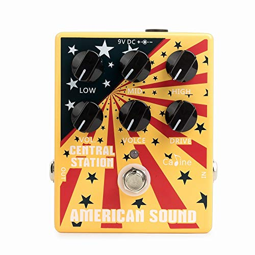 Caline CP-55 Central Station American Sound Amp Simulator Distortion Effects Pedal