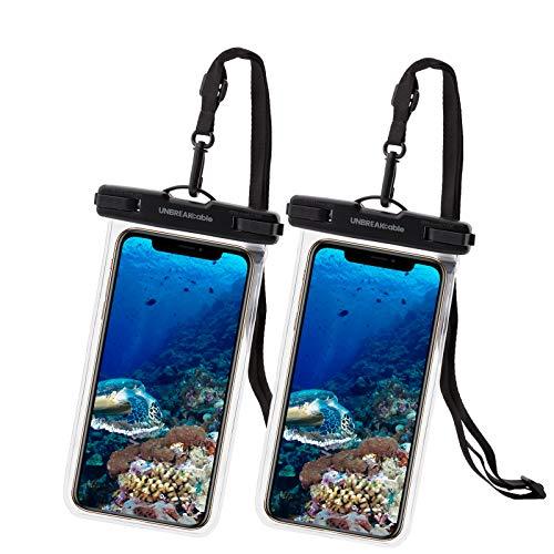 UNBREAKcable Pochette Étanche Smartphone [ Lot de 2] Sac étanche IPX8...