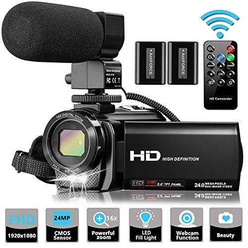 51CvvNcTxfL - The 7 Best Budget Camcorders