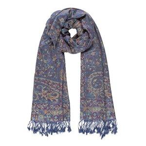 Scarf for Women Spanish Design Elegant Long Shawl Scarves for Fall Winter