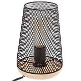 Atmosphèra Lampe à Poser - Style Design - Coloris Noir
