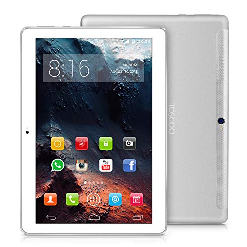 TOSCIDO 4G LTE Tablet 10 Pollici - Android 10.0 ,...