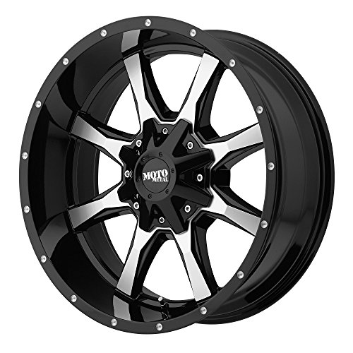 Moto Metal MO970 Gloss Black Wheel Machined with Milled Accents (16x8'/8x165.1mm, 00mm offset)
