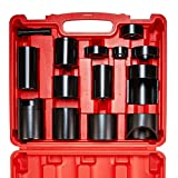 Orion Motor Tech Pickup Truck Ball Joint Press Adapters Tool Kit, U/Ball Joints Removal Separator Compatible with Most Ford F-Series, Chevy Silverado, Dodge Ram and GMC Sierra, Works w/C-Frame Press