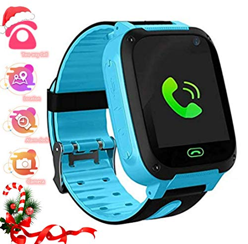 LDB Kinder SmartWatch Phone, LBS Tracker Micro Call SOS Alarmkamera...