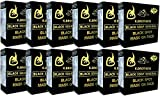 (1dozen) black Soap for Black Spot Mask on Face By K.brothers(azana USA Ginseng Soap) 50g. (Otop, FDA and Halal Certificate)(free Gift: 65g. Placenta +Collagen Whitening Soap (Sheep Soap).