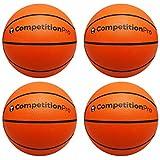 "Game Room Guys Hoop Shot Arcade Basketball - 9"" - Set of 4"