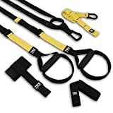 TRX PRO3 Suspension Trainer System Design & Durability| Includes Three Anchor Solutions, 8 Video Workouts & 8-Week Workout Program