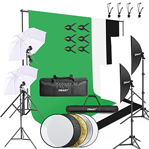 Emart 8.5 x 10 ft Backdrop Support System, Photography Video...