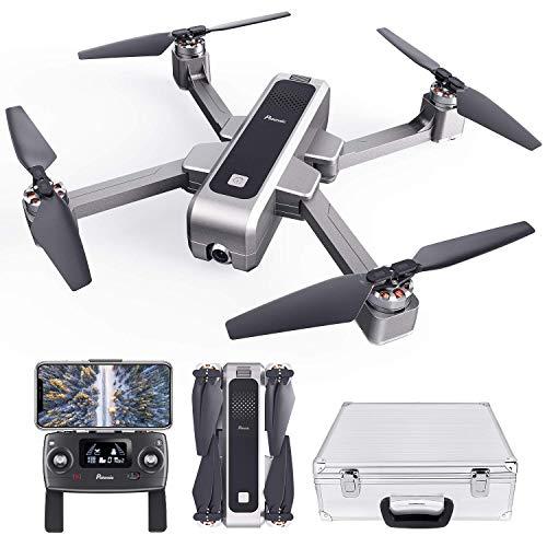 Potensic Drone Pieghevole Brushless GPS con Telecamera 2K Quadricottero D88 5G WiFi FPV RC Videocamera con Valigetta Ritorno a Casa, Posizionamento Flusso Ottico, Mantenere l'Altidutine ad Ultrasuoni