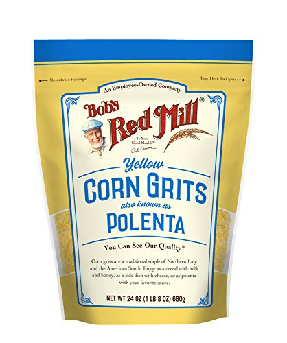 Bob's Red Mill Corn Grits/Polenta, 24-Ounce (Pack of 4)