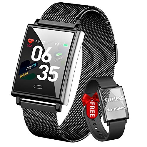 HOFIT Smartwatch Uomo Fitness Tracker, Orologio Fitness Uomo,Orologio Smartwatch Impermeabile...