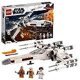 LEGO Star Wars75301 Le X-Wing Fighter de Luke Skywalker Jeu de combat avec la princesse Leia et la figurine de droïde R2-D2