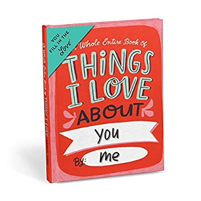 When you fill in the blanks, this becomes the only book of its kind in the universe: a unique, personalized gift for the one you love. (Or really, really like. ) Includes: one (1) hardcover fill-in-the-blank journal / gift book measuring 4. 1 x 5. 4-...