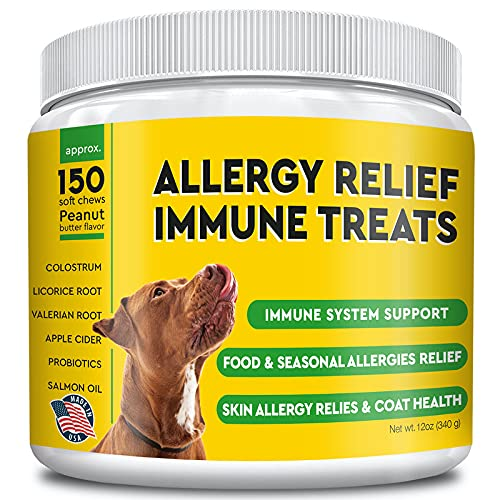 Pawfectchew Allergy Relief for Dogs - Immunity...