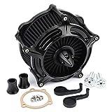 Motorcycle Air Cleaner Black Turbine Spike Air Filter Intake Kit For Sportster...
