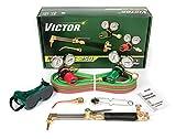 Victor Technologies 0384-2540 Medalist 250 System Medium Duty Cutting System, Acetylene Gas Service, G250-15-510 Fuel Gas Regulator