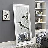 Naomi Home Framed Floor Mirror White/65' x 31'
