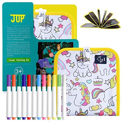 Giocattolo riutilizzabile lavabile per disegnare graffiti, libro portatile in stoffa per bambini...