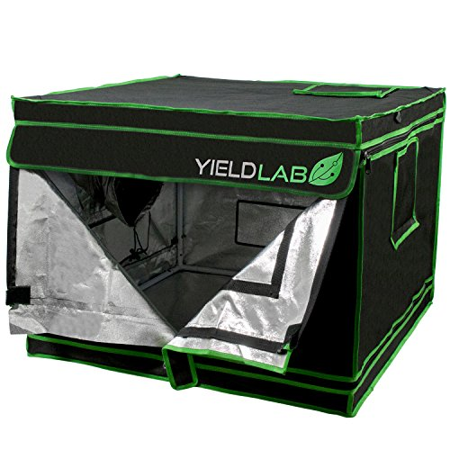 Yield Lab 32' x 32' x 24' Grow Tent with Viewing Window – for Indoor, LED, T5, CFL, HPS, CMH – Hydroponic, Aeroponic, Horticulture Growing Equipment