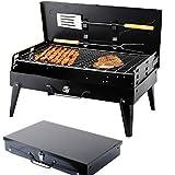 SunJas Barbecue Barbecue à charbon,BBQ Barbecue Four de Charbon Portable...