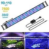 BELLALICHT Rampe LED pour Aquarium Éclairage Aquarium LED 31W 2 Mode RGBW...