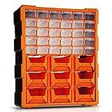 Cajas y maletines Tipo cajón de piezas del gabinete de Herramientas Cajas de bloques de construcción de componentes electrónicos cofres de herramienta combinado de hardware multi-capa de la caja de he