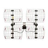 Antennas Direct 8-Element Bowtie TV Antenna, 70 Miles Range,...