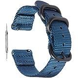 Zeit Diktator watch band Bracelet de montre Nato en nylon à libération rapide...