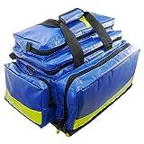 Bolsa de emergencia profesional, tamaño Aerosoft - Maletín para aerocase, color azul