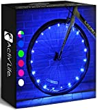Activ Life Bike Wheel Lights (1 Tire, Blue) Best Gifts for Men & Cool, Basket Stuffing & Birthday Boys 4 5 6 7 8 9 10 Year Old. Top Unique Easter 2021 Ideas for Him, Dad, Brother, Uncle