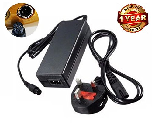 neri 42V 2A UK Plug AC Adapter Chargeur pour Hoverboard 2Roues Scooter lectrique Auto-quilibrage...