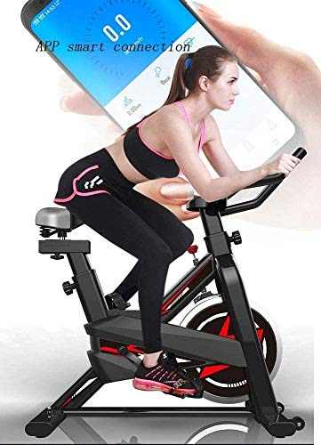 YFFSS Exercise Bikes, Ultra-Quiet Exercise Bike, Home Adjustable Exercise Pedal Spinning Bike, Professional Magnetic Control Indoor Weight Loss Exercise Fitness Equipment 3